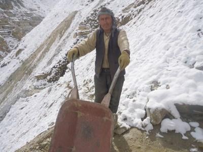 Panjshir emerald miner