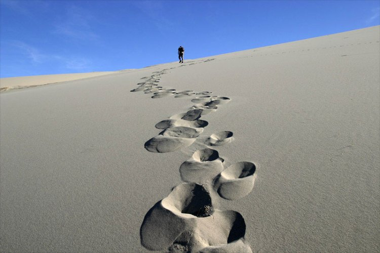 Oh my gosh Footprints