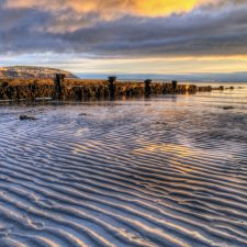 beach at Douglas, Isle of Man, at Dawn - Is it a tax haven?