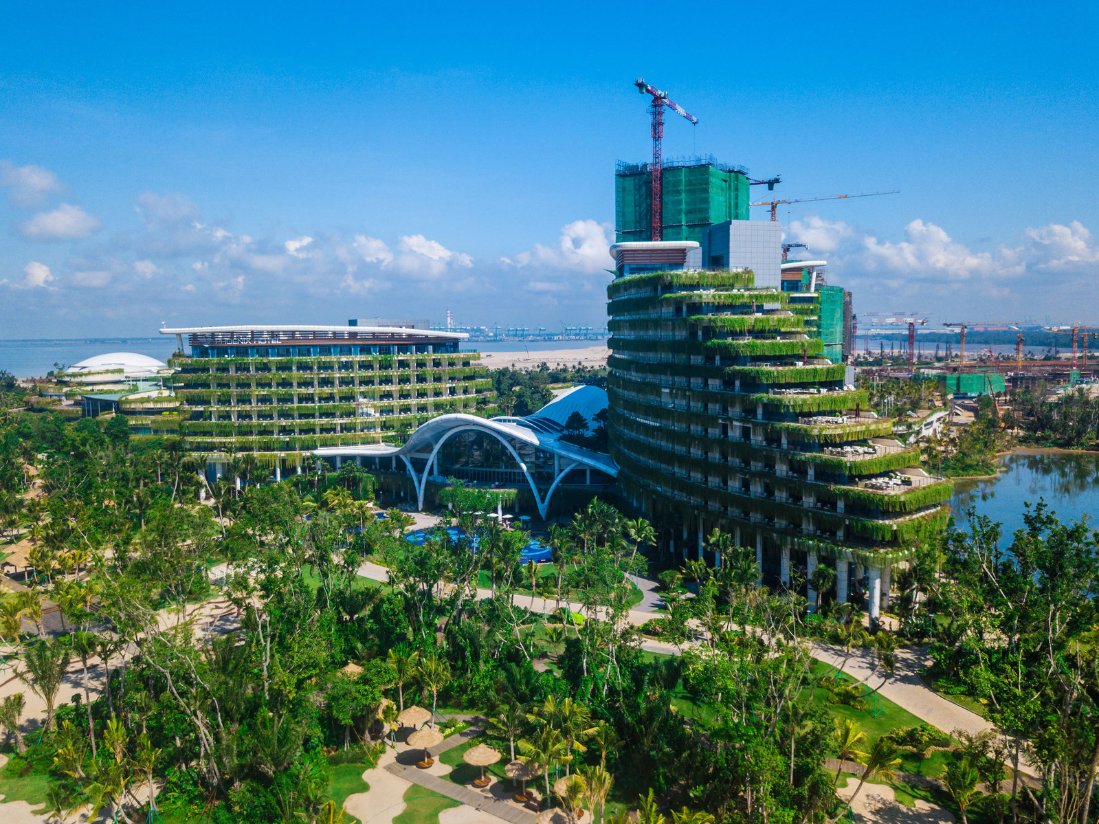 View of Country Garden Forest City presented at the Fortune Global Forum