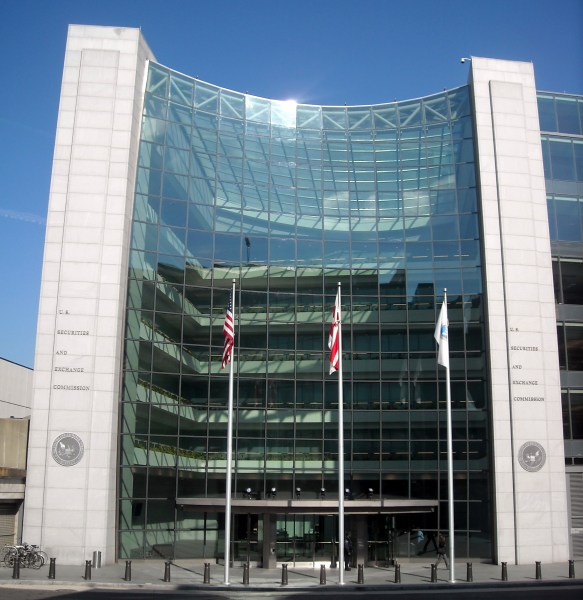 Cryptocurrency - U.S. Securities and Exchange Commission headquarters in Washington, D.C., near Union Station