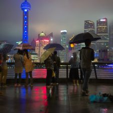 Rainy Night in Shanghai, May 2016 - UnionPay International