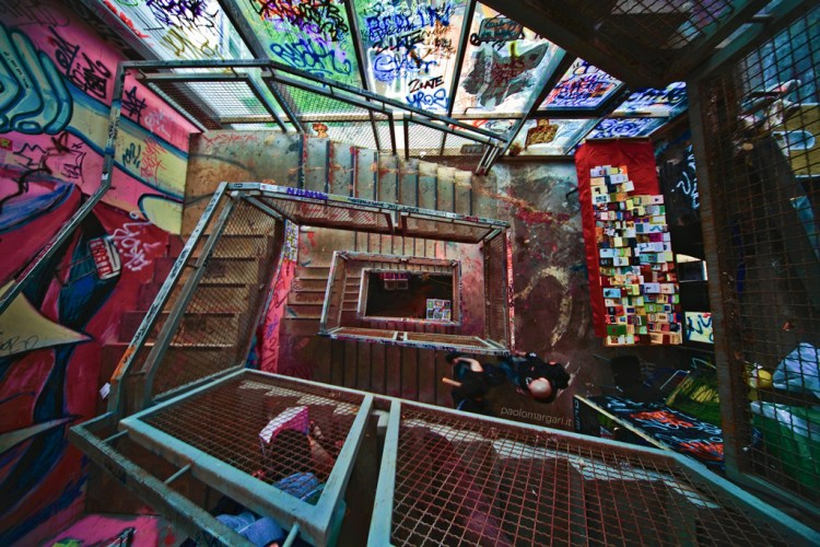 Tacheles stairs, Berlin and a huge amount of money