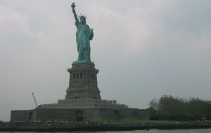 Statue of Liberty at Ellis Island - Liberty from Punitive Taxation