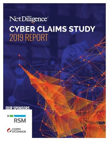NetDiligence® 2019 Cyber Claims Study