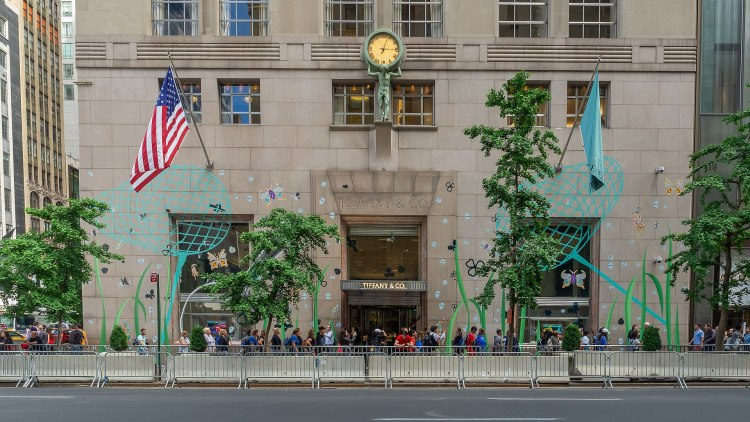 Tiffany's flagship store (2019)