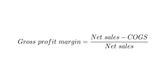 Gross Profit Margin formula