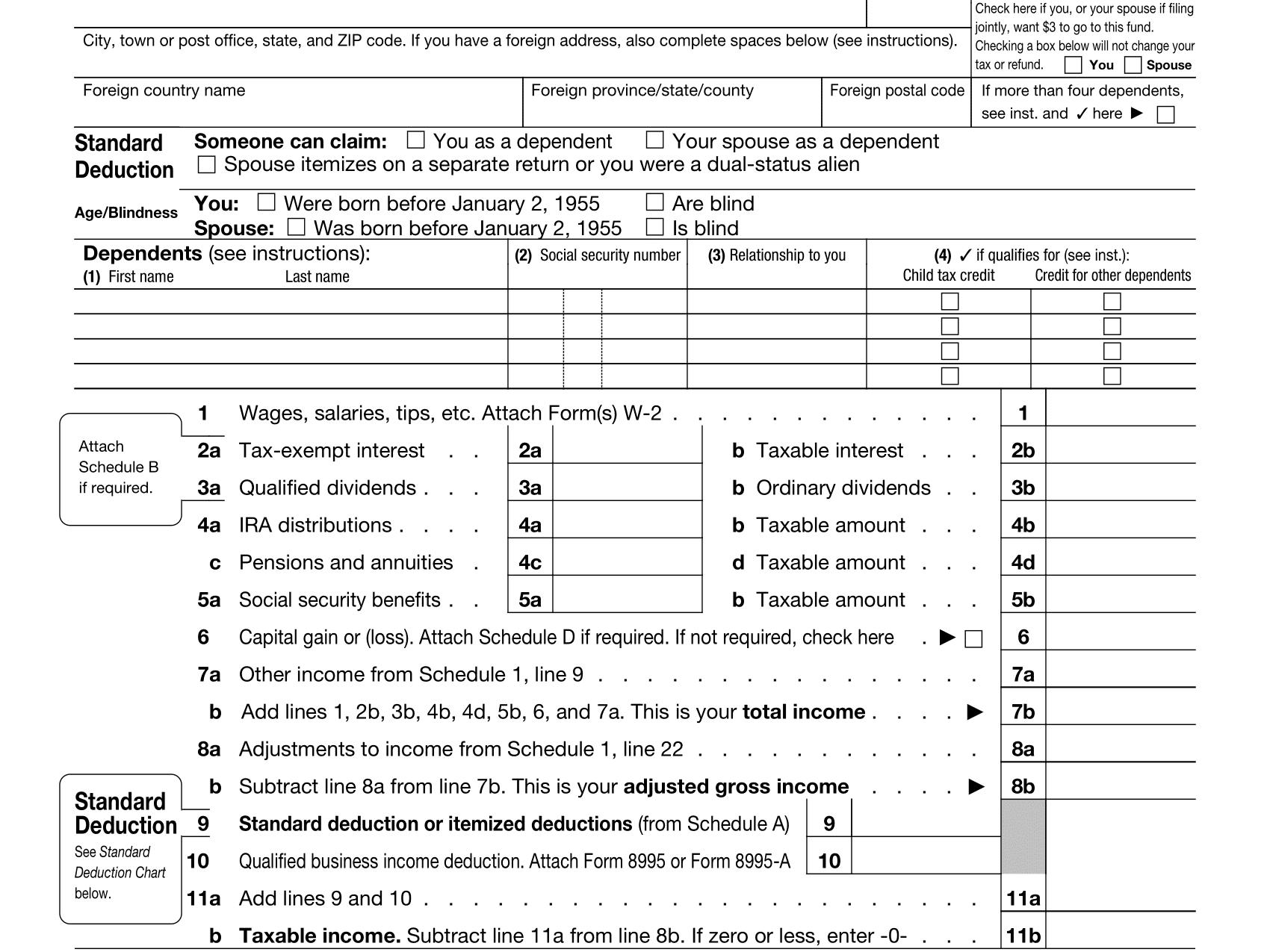 Tax Tables Irs Ez