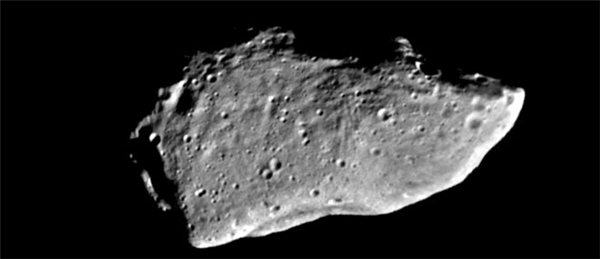 NASA / JPL (Asteroid Gaspra 951-Objects in photo are larger than they appear)