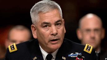 U.S. Forces-Afghanistan Resolute Support Mission Commander Gen. John Campbell