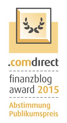 Nominierung und Wahl zum Finanzblog des Jahres 2015