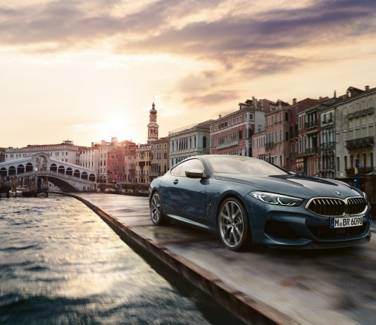 The new BMW 8 series in Venice