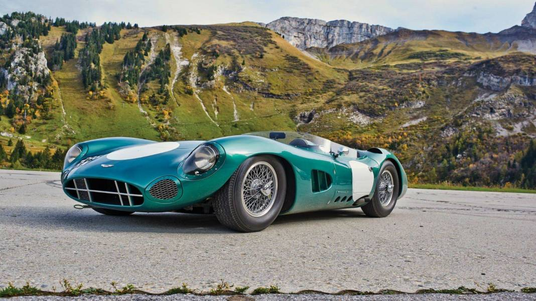 The DBR1's 1959 24 Hours of Le Mans winning car