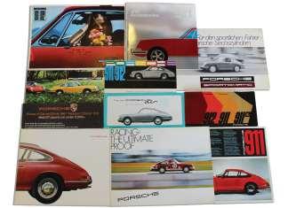 Porshe 911 sales brochures