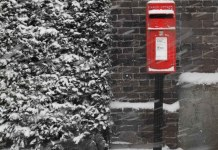 Royal mail delivers fewer letters