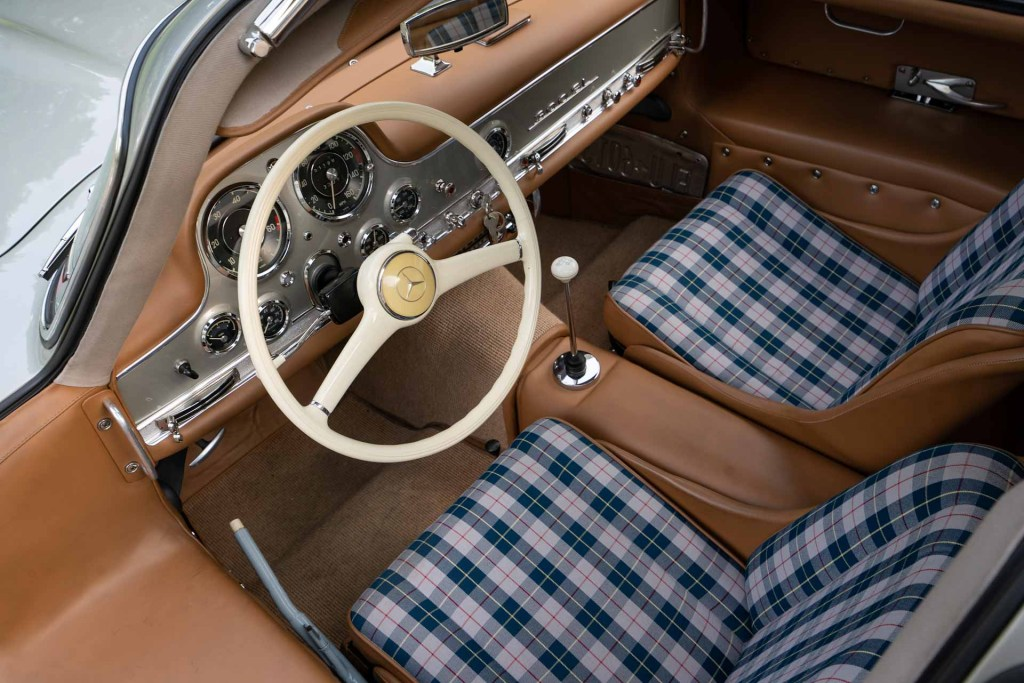 1955 Mercedes Benz 300 SL Gullwing seats