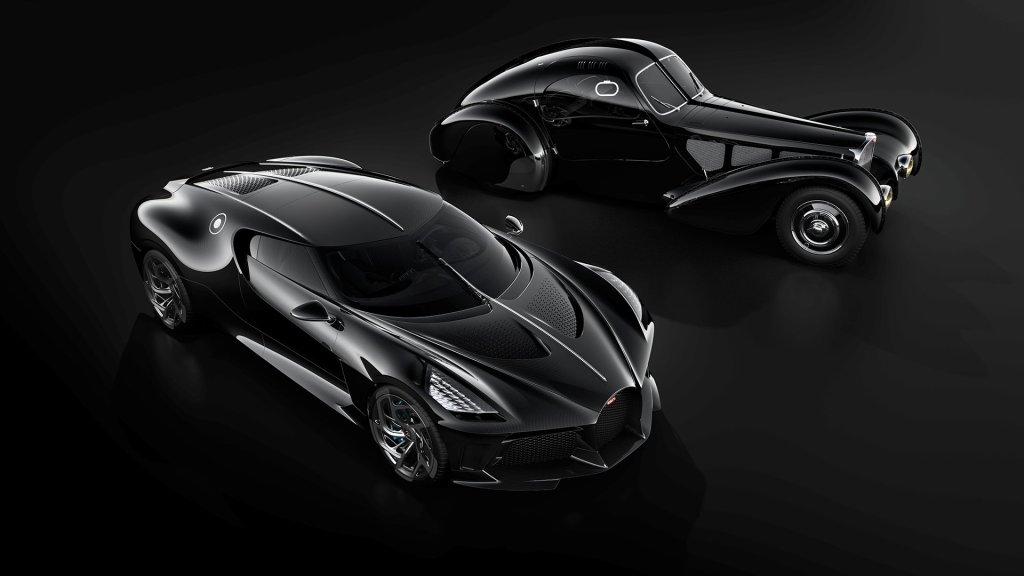 Bugatti La Voiture Noire and Type 57 SC Atlantic