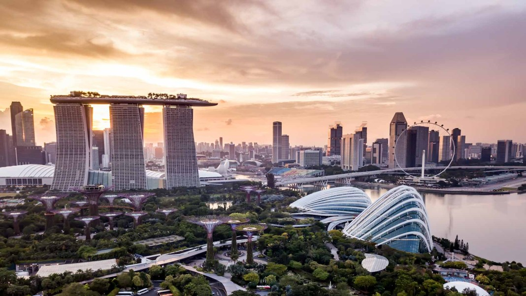 Singapore - joint most expensive city in world