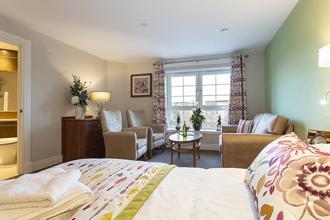 Bothwell Castle bedroom