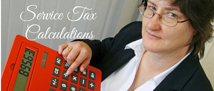 Service Tax Calculation: Simple Steps