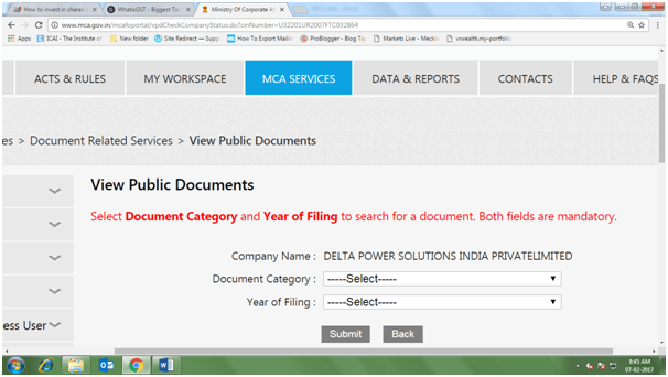 how to download balance sheet of a company