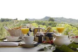 アグリツーリズモの朝食