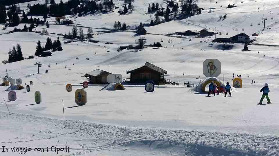 Alpe di Siusi panorama