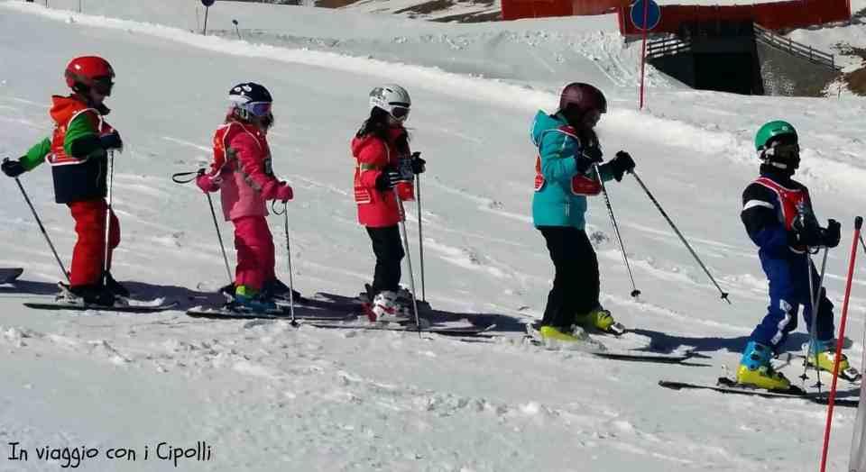 corso sci bambini