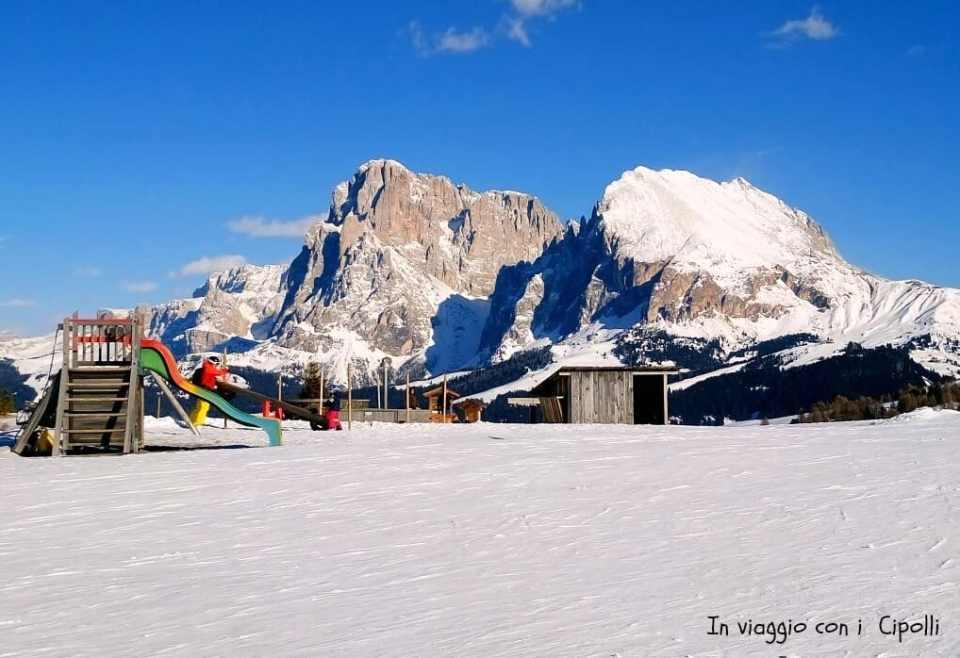 vacanze sulla neve con i bambini parchi gioco in quota