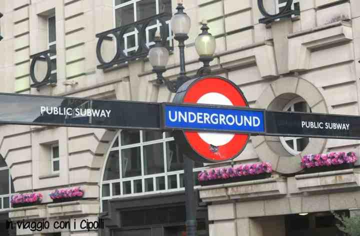 Londra con i bambini The Tube