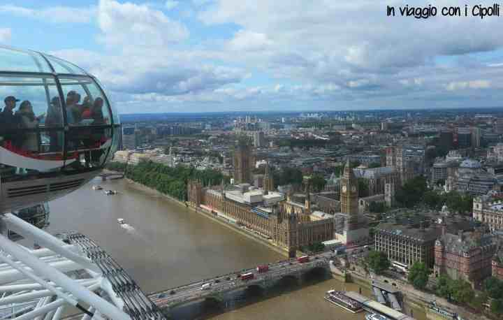 viaggio a londra london eye