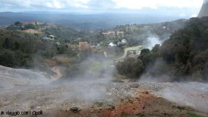 Itinerario toscana geotermia
