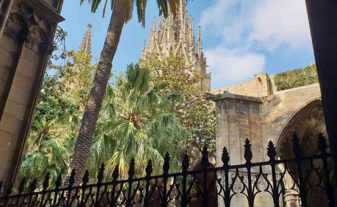 Barcellona Chiostro Cattedrale