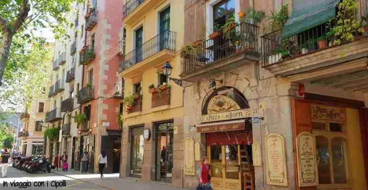 Passeig del Born Barcellona