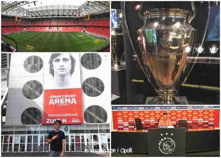 Amsterdam con i bambini Ajax Arena