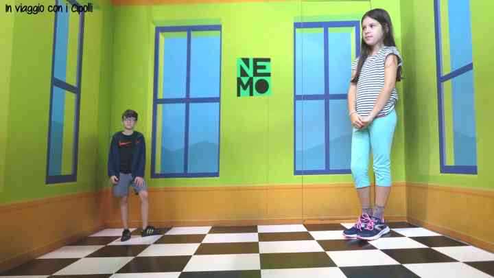 Amsterdam con i bambini Museo Nemo