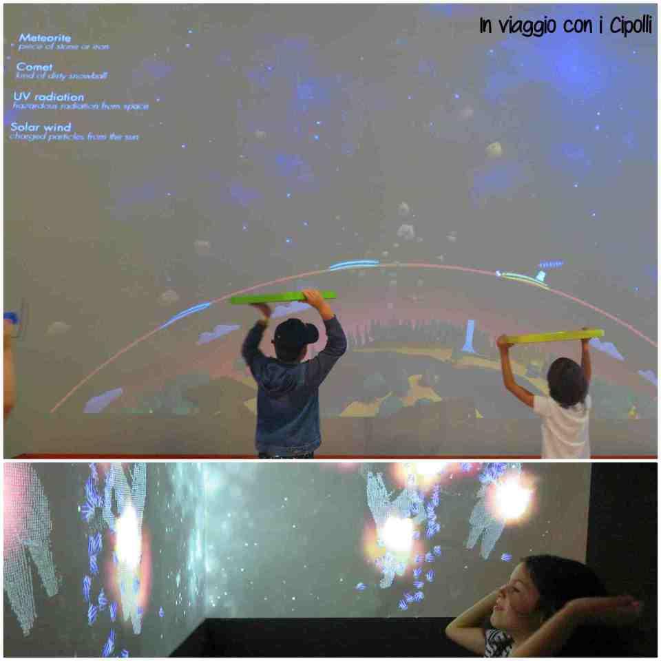 giochi interattivi spazio