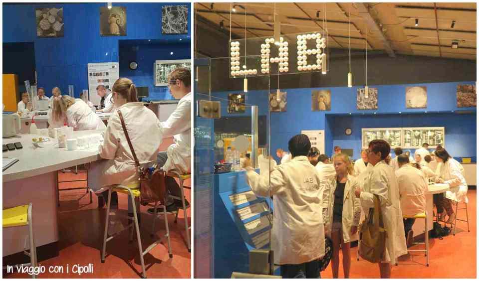 Laboratorio scienze museo nemo amsterdam