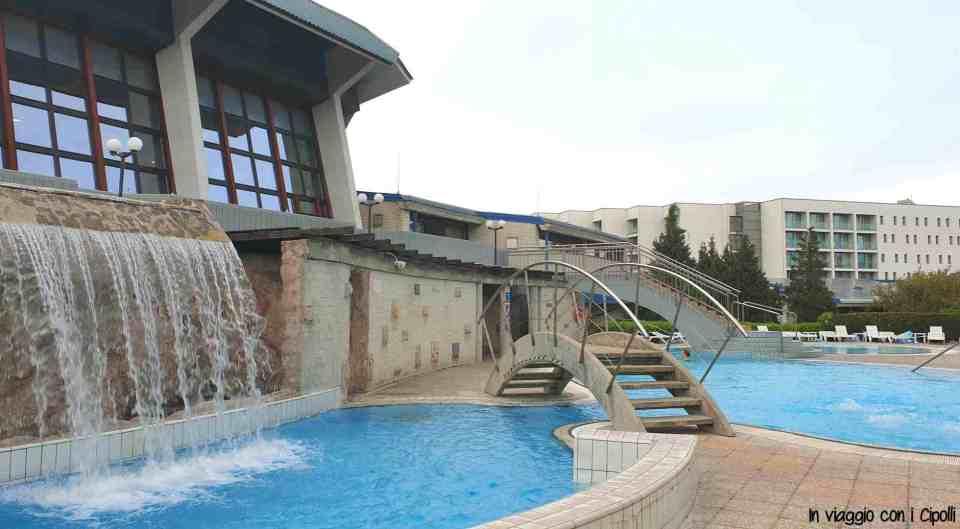 piscina esterna hotel terme catez