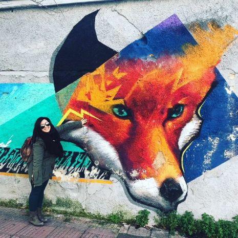 Quando viaggio amo scoprire la street art di una città