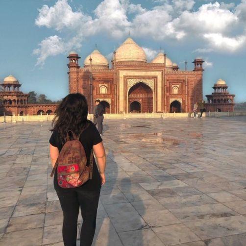 Visita al Taj Mahal