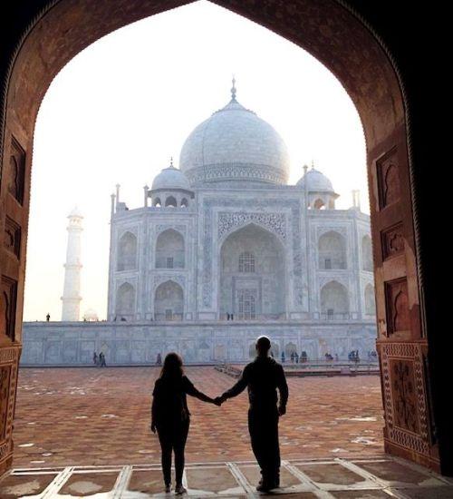 Visita il Taj Mahal