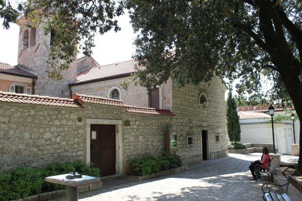 Viaggio a Opatija, Abbazia di San Giacomo della Preluca (Croazia)