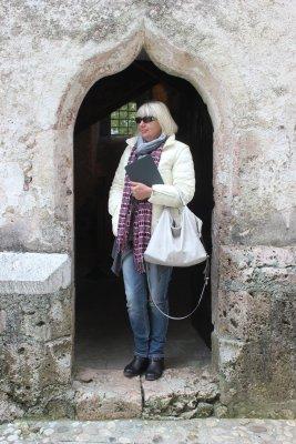 Viaggio a Bled, accesso al campanile del Santuario dell'Assunta (Slovenia)