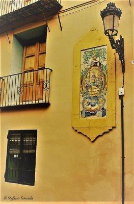 Angolo caratteristico di Valencia (Spagna)