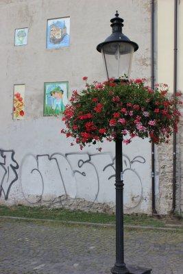 Viaggio a Bratislava, dettagli nella città vecchia (Slovacchia)