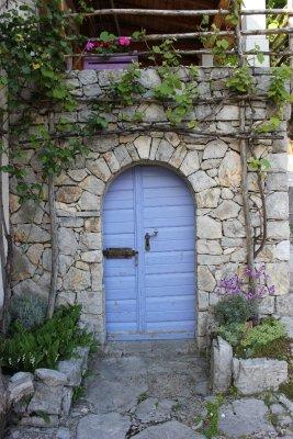Dettagli nel piccolo borgo di Veprinac (Croazia)
