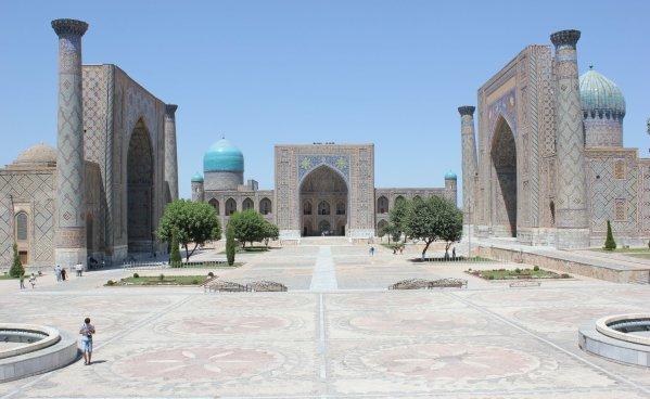 Il Registan (Samarcanda, Uzbekistan)