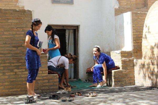 Viaggio in Uzbekistan, Mausoleo di Sayid Alauddin a Khiva