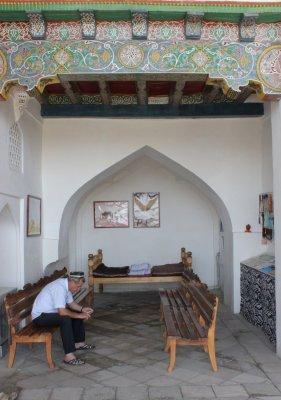 Viaggio in Uzbekistan, Moschea di Hazrat-Hizr a Samarcanda (Uzbekistan)